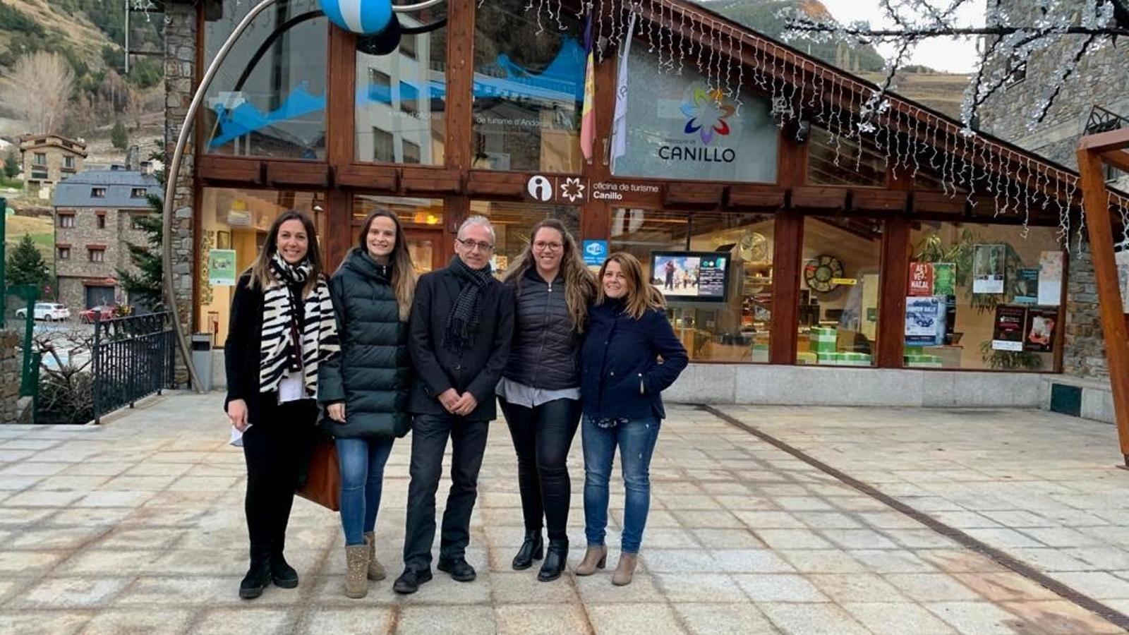El candidat de Demòcrates+Independents de Canillo, Francesc Camp, aposta per la tecnologia per potenciar el turisme. / DEMÒCRATES