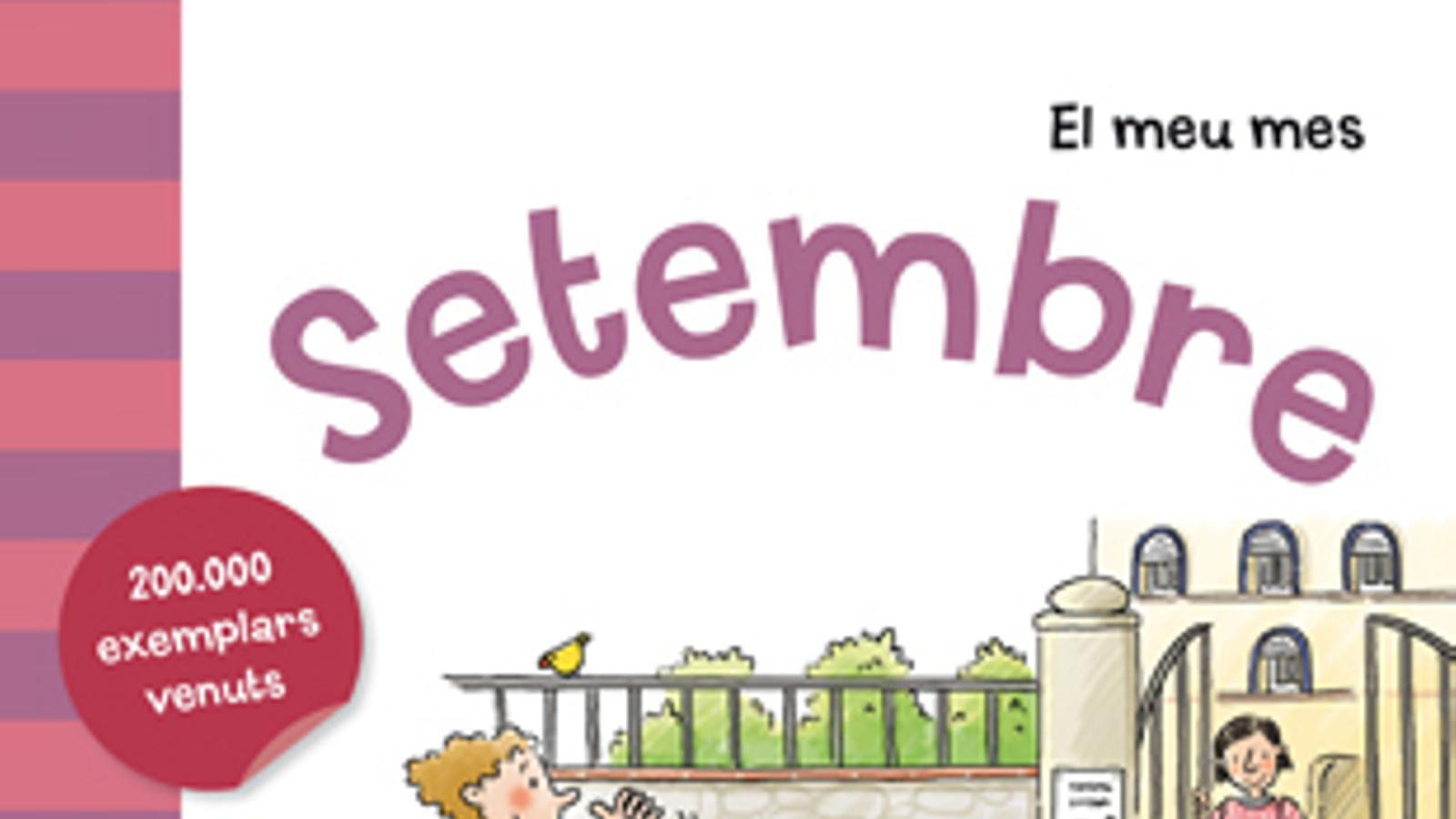 El llibre infantil 'El meu mes. Setembre', amb l'ARA