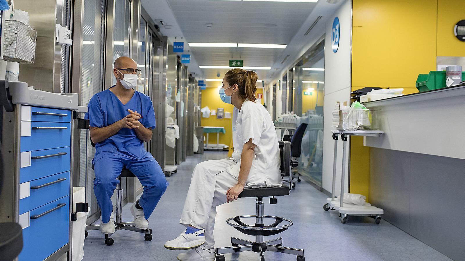 Els hospitals engeguen la seva pròpia desescalada