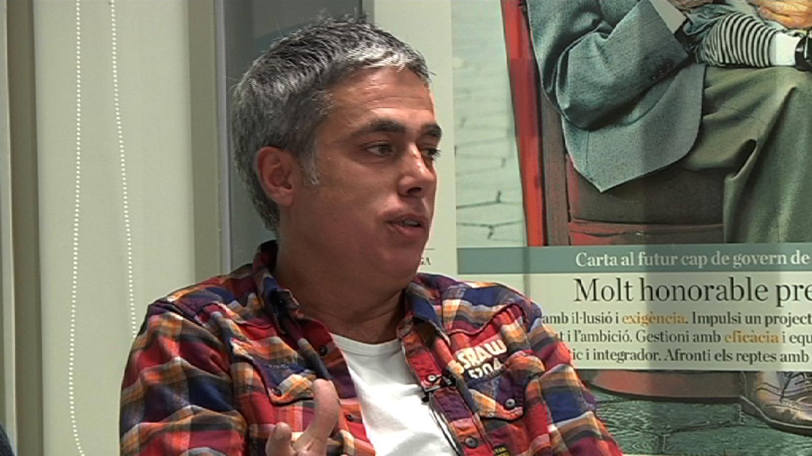 Jordi Évole, sobre 'El convidat': Tu a mi em fas patir perquè fas preguntes molt personals i íntimes