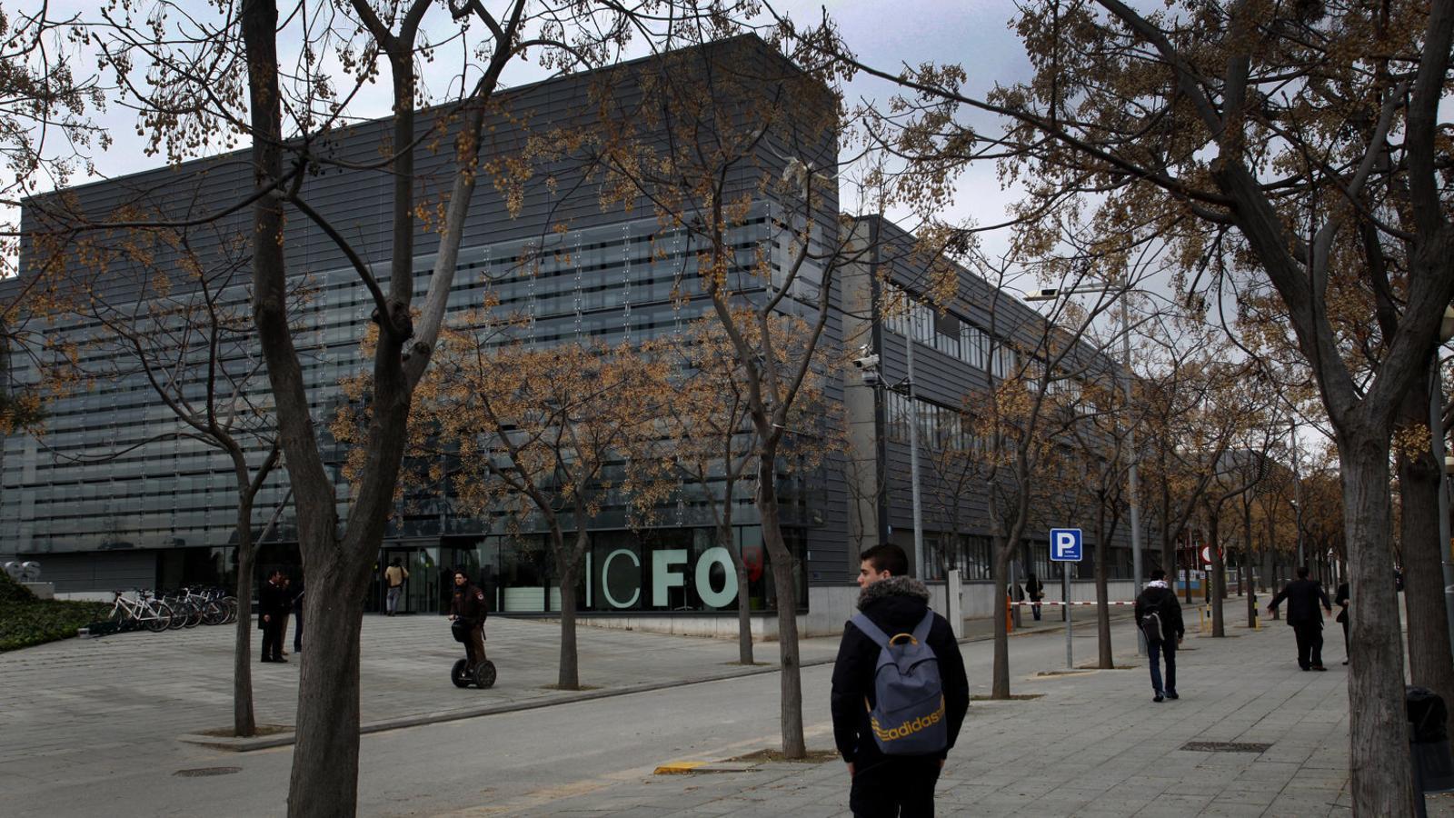 L'Institut de Ciències Fotòniques, a Castelldefels, en una imatge d'arxiu.