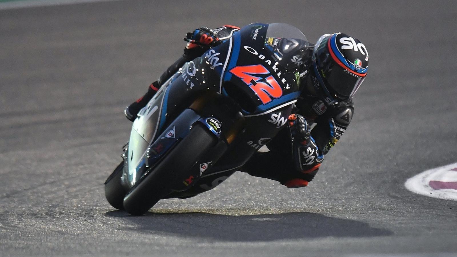 Bagnaia, guanyador de la cursa de Moto2 a Qatar
