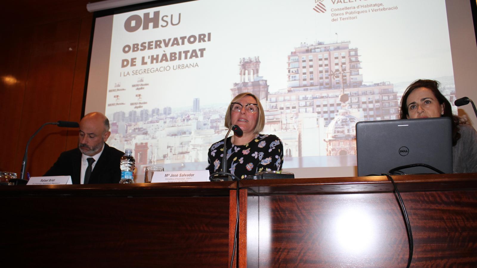 Acte de presentació de l'Observatori de l'Hàbitat i la Segregació Urbana