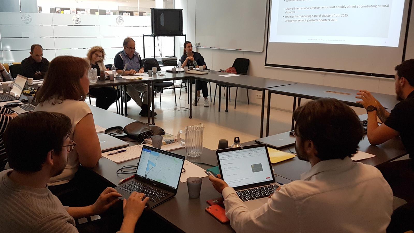 Darrera reunió del projecte celebrada a Reykjavik el 21 de juny. / UDA