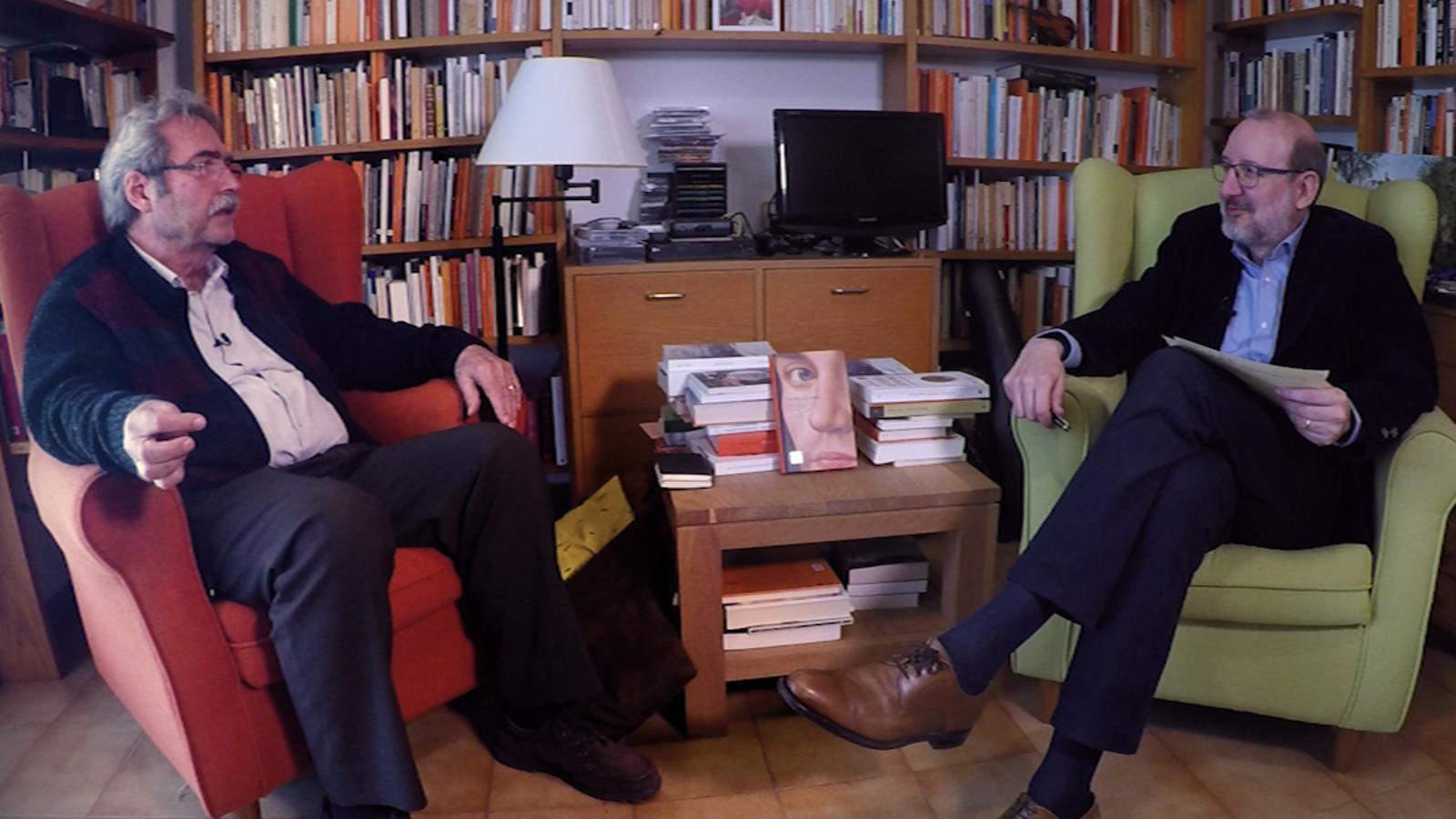Entrevista d'Antoni Bassas a Jaume Cabré