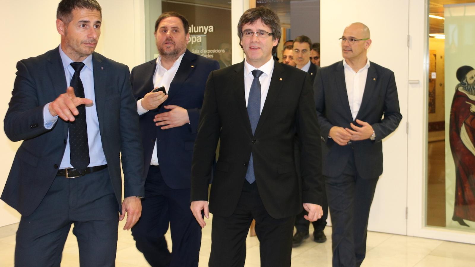 La conferència de Puigdemont a Brussel·les, en directe