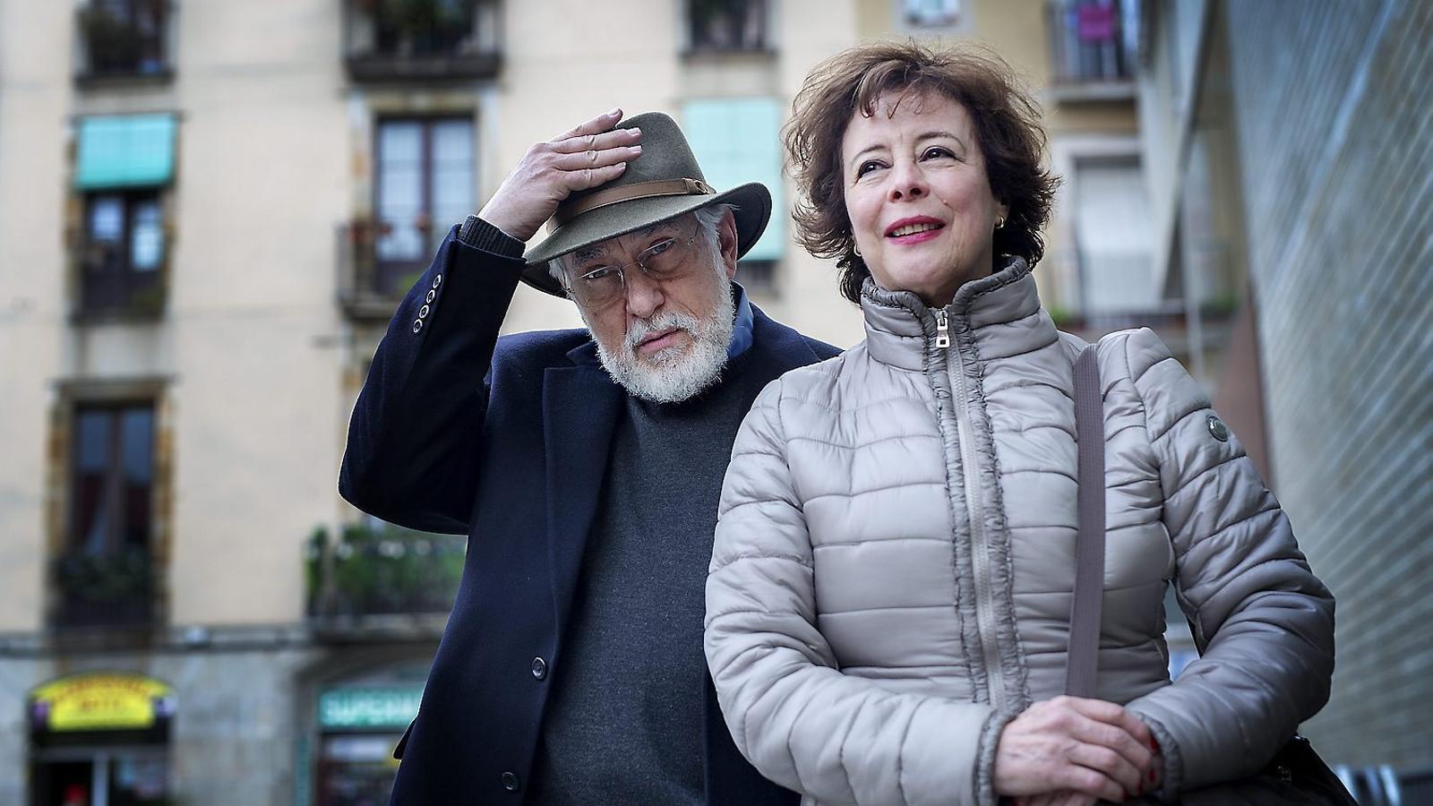 Arturo Ripstein i Paz Alicia Garciadiego a la Filmoteca.