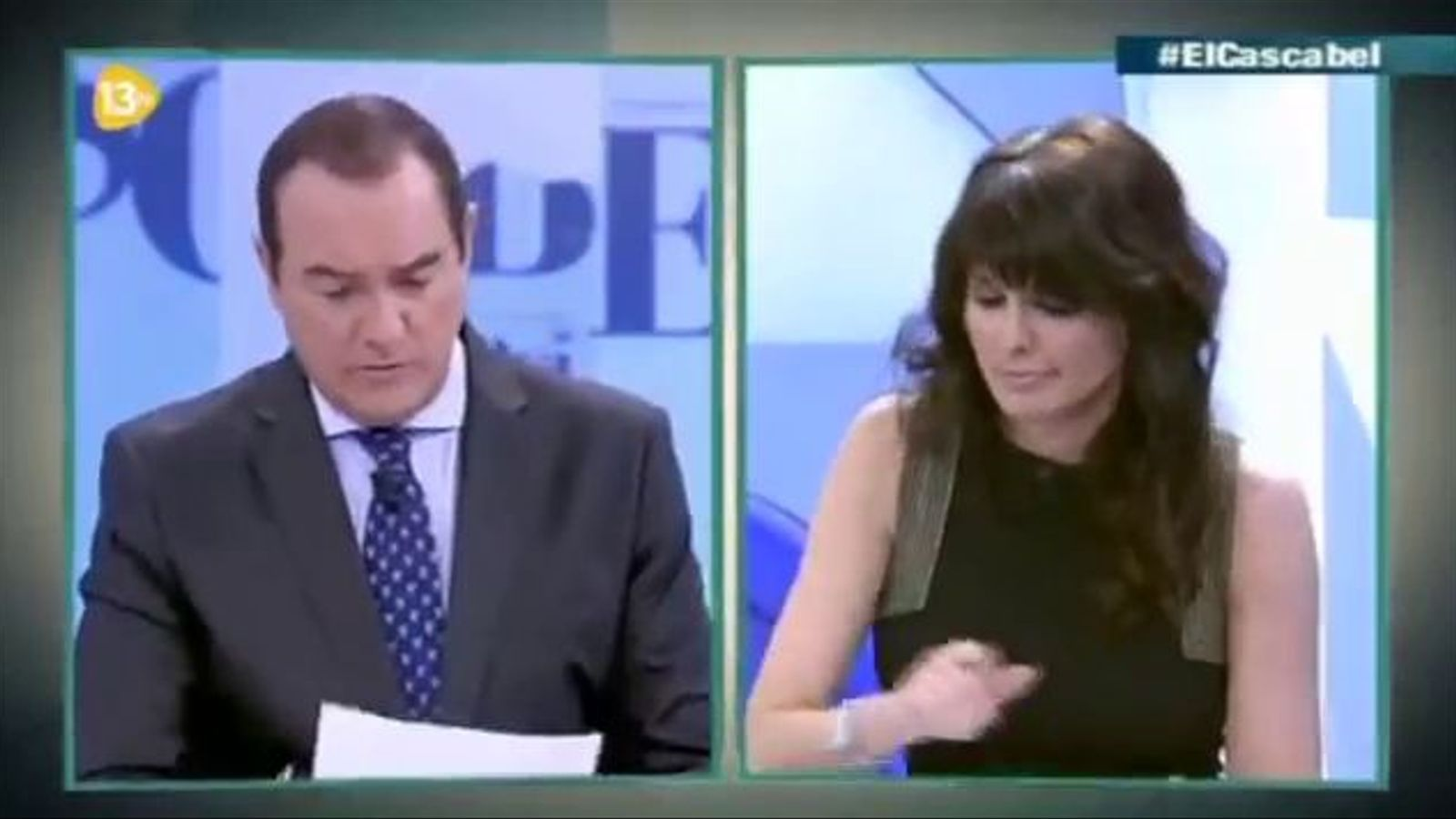 La tertúlia de 13tv sobre el tuit de Jair Domínguez