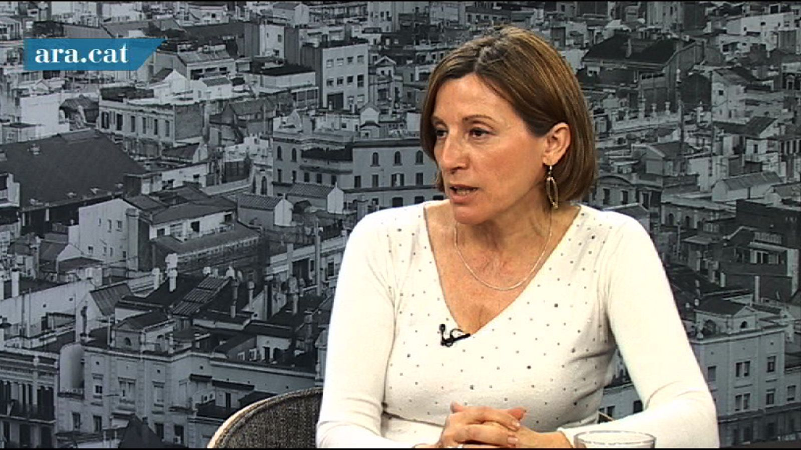Carme Forcadell: No abandonaré la política i no descarto res, tampoc entrar a cap llista de partit