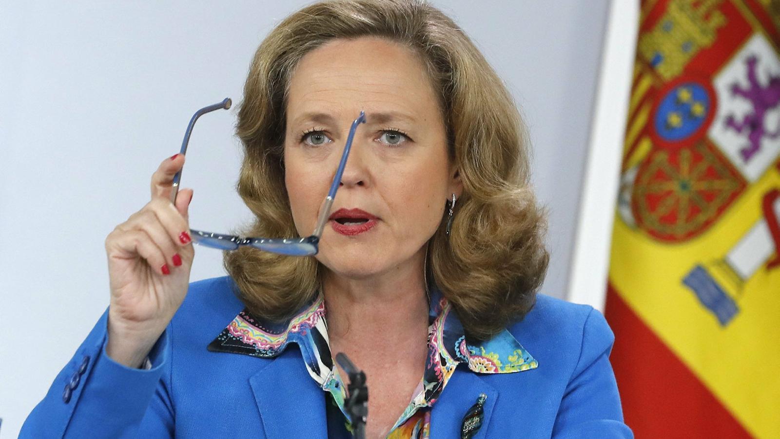La ministra d'Economia, Nadia Calviño, en una imatge recent.