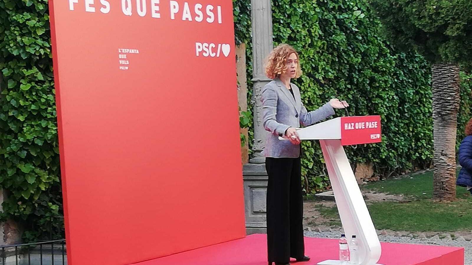 """Batet demana un compromís dels partits per """"desterrar la intolerància i el joc brut"""" de la campanya"""