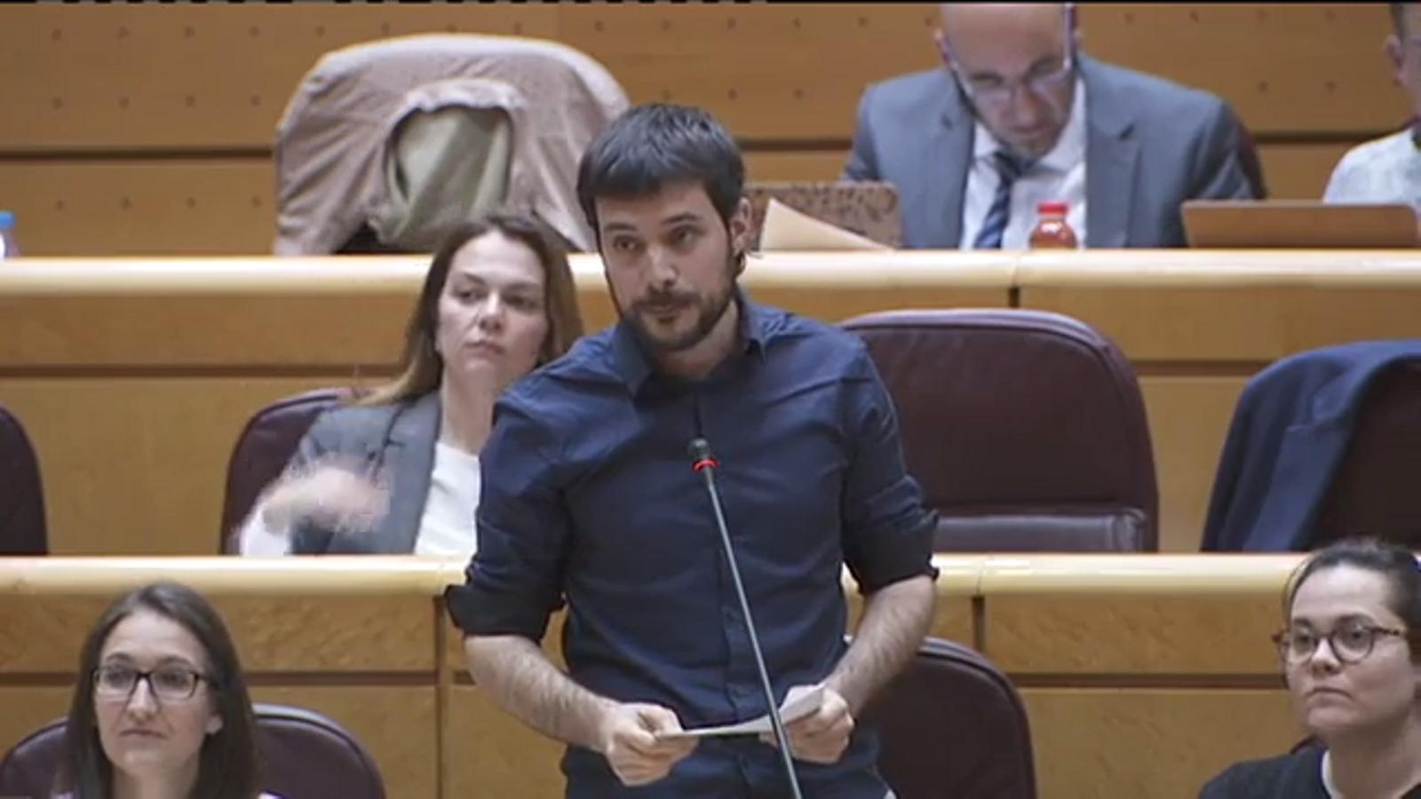 Bernat Picornell, al Senat