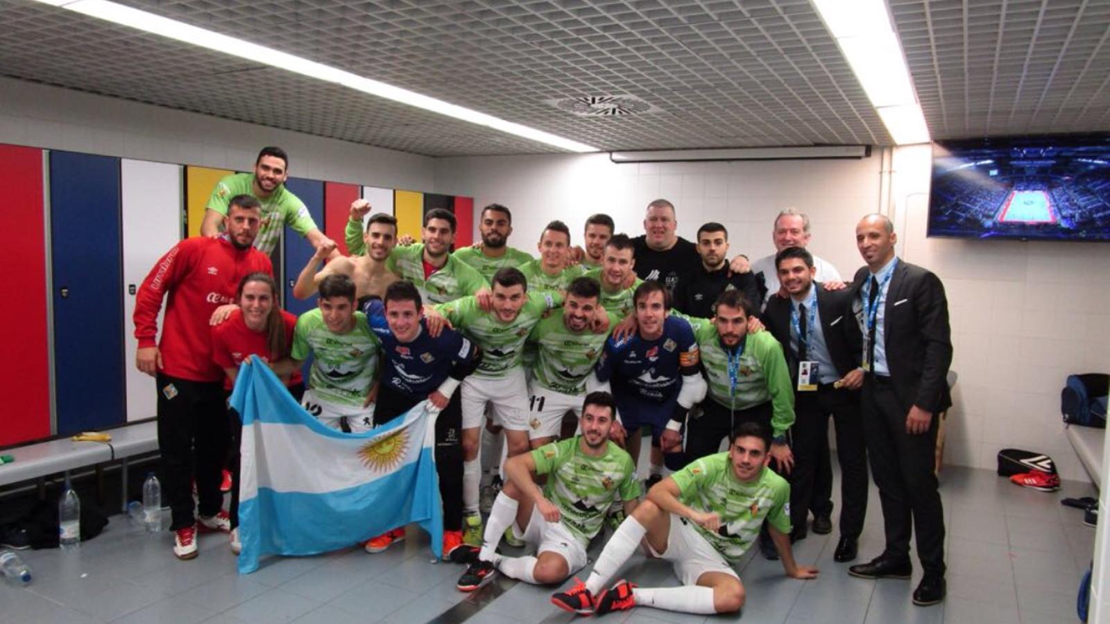 El Palma Futsal elimina el Pozo Murcia (2-1) amb una actuació soberbia de Nico Sarmiento