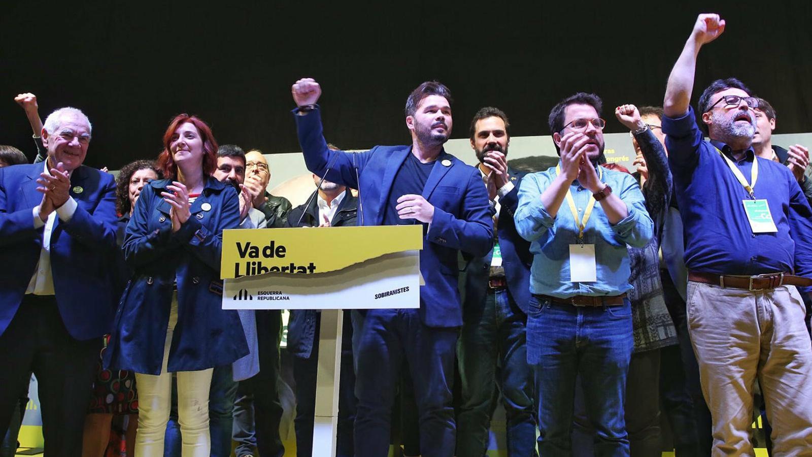 Junqueras porta ERC al primer triomf a les generals
