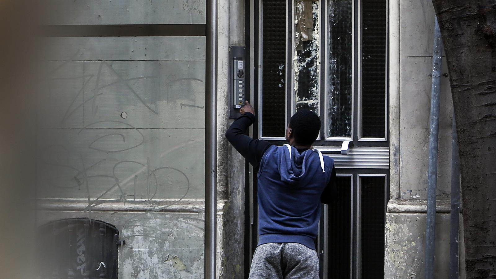 La porta del malson a Sant Antoni