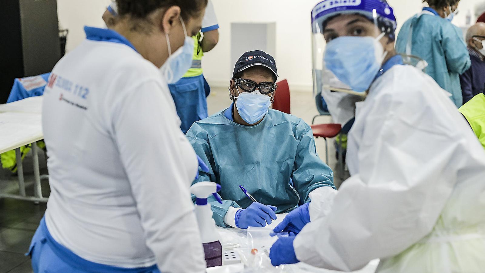 L'odissea per una PCR a Madrid