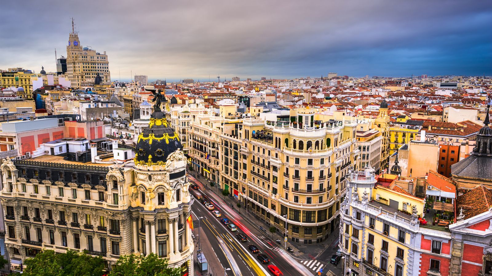 Imatge d'arxiu de la Gran Vía de Madrid