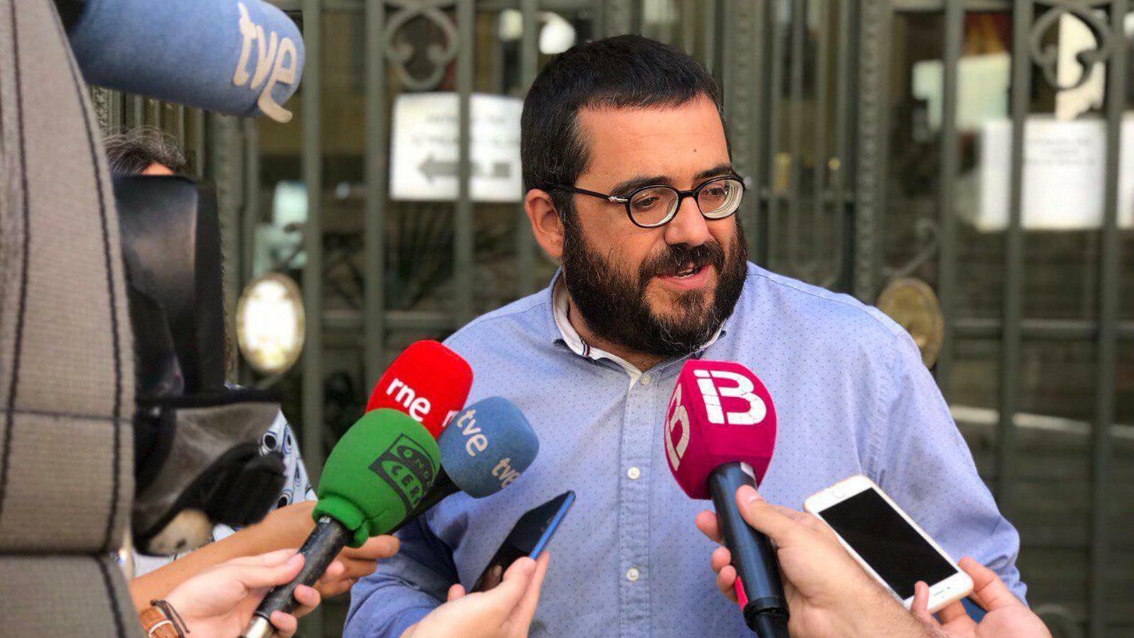 El senador autonòmic de MÉS per Mallorca, Vicenç Vidal.