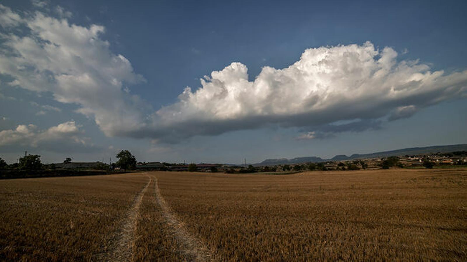 Cel amb niguls aquest dijous a les Illes Balears.