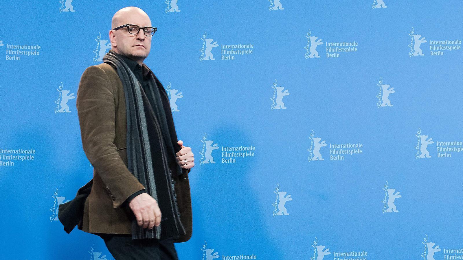 El cineasta Steven Soderbergh, ahir a Berlín.