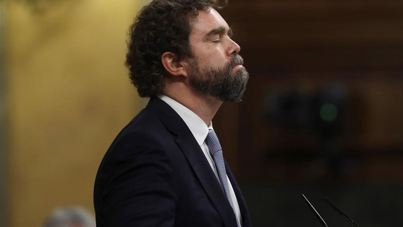 El portaveu de Vox al Congrés, Iván Espinosa de los Monteros