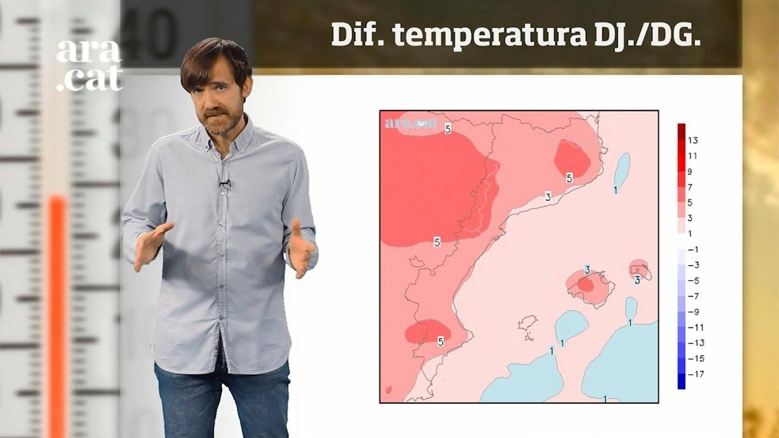 La méteo en 1 minut: el cap de setmana repuntarà la temperatura
