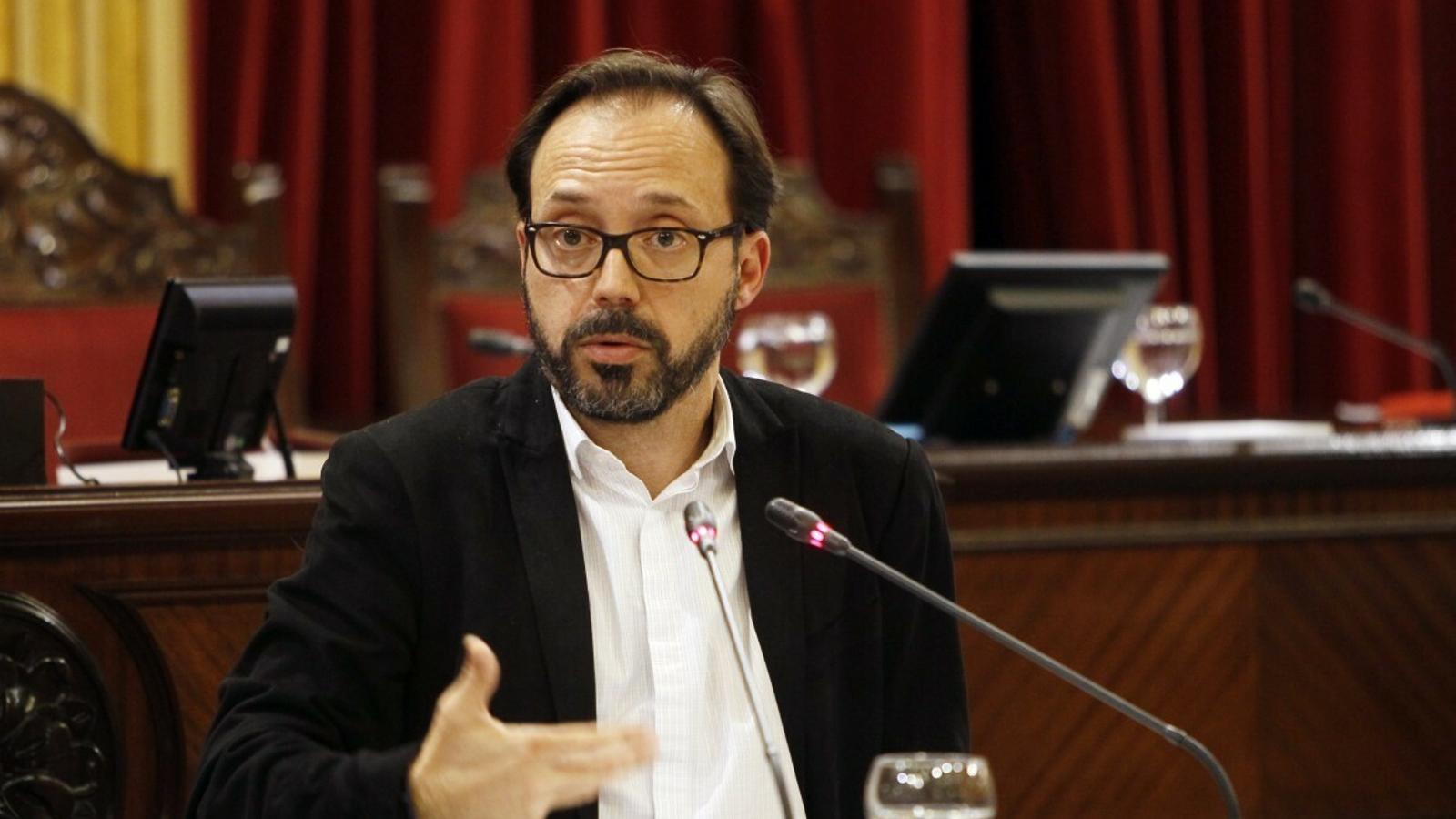 El diputat de MÉS per Menorca, Josep Castells