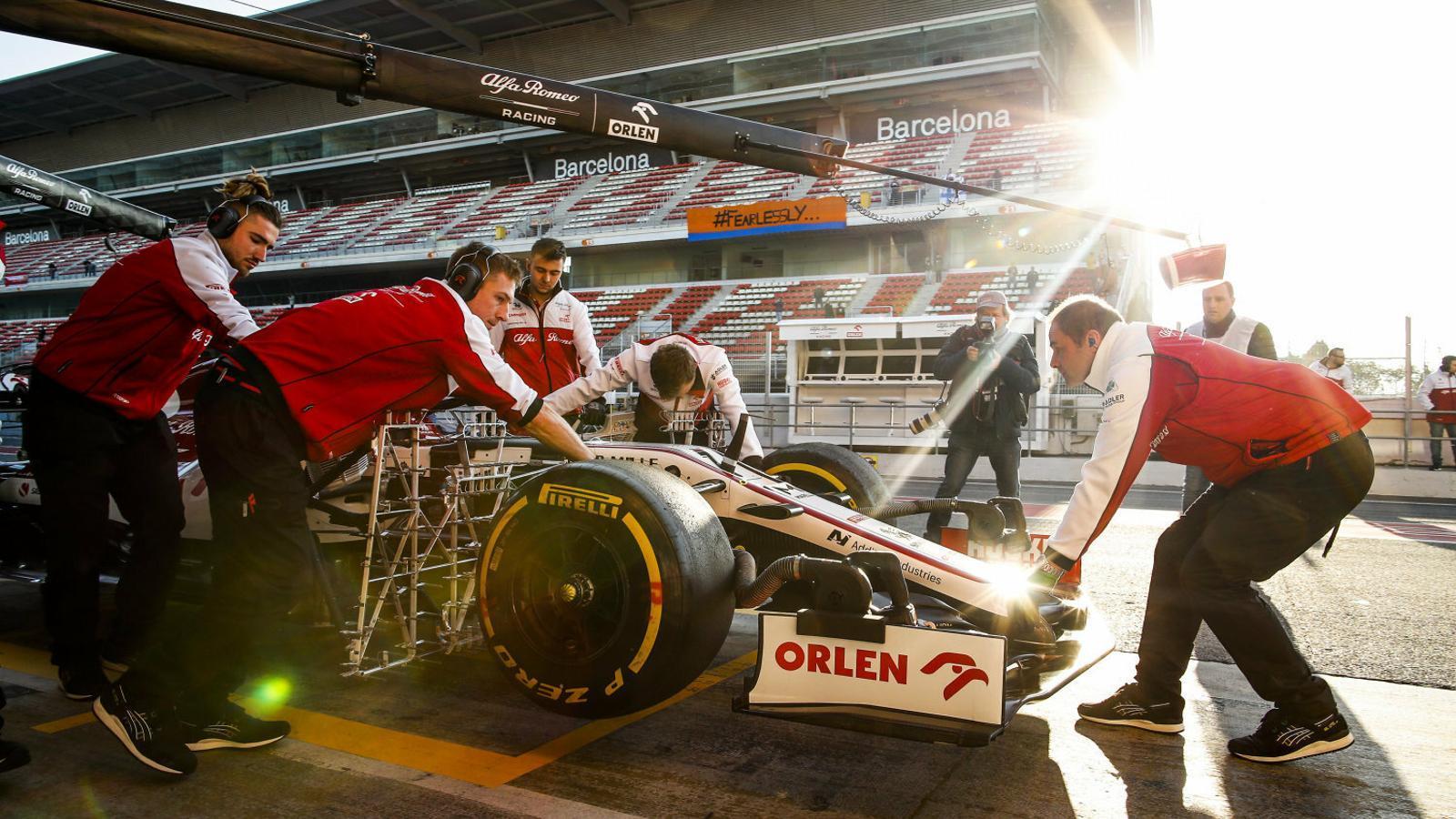 El Circuit de Barcelona-Catalunya acull aquesta setmana i la vinent els tests de pretemporada de Fórmula 1.