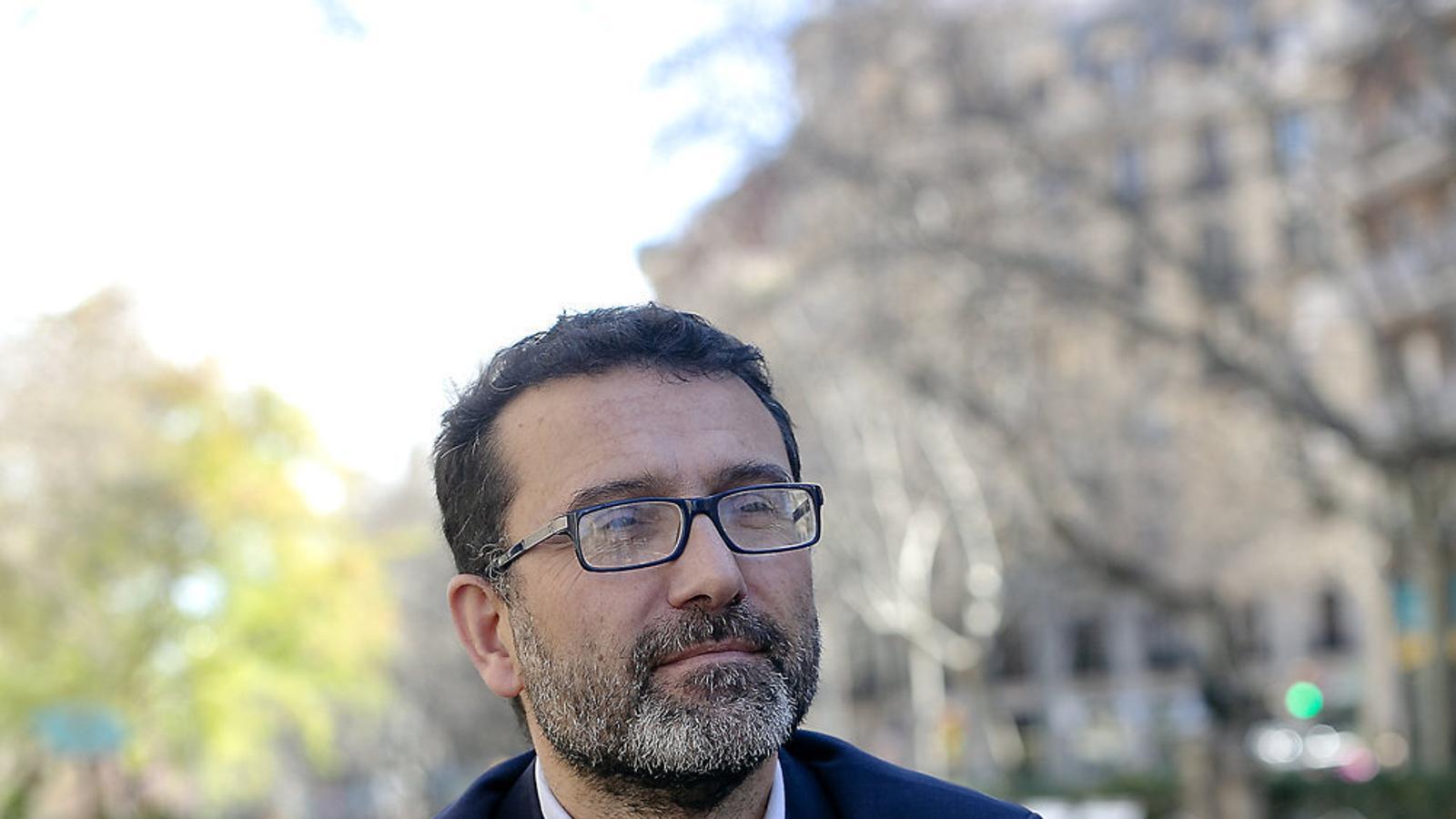 """Miquel Carrillo: """"El covid és un gran aliat  per a la causa internacionalista"""""""