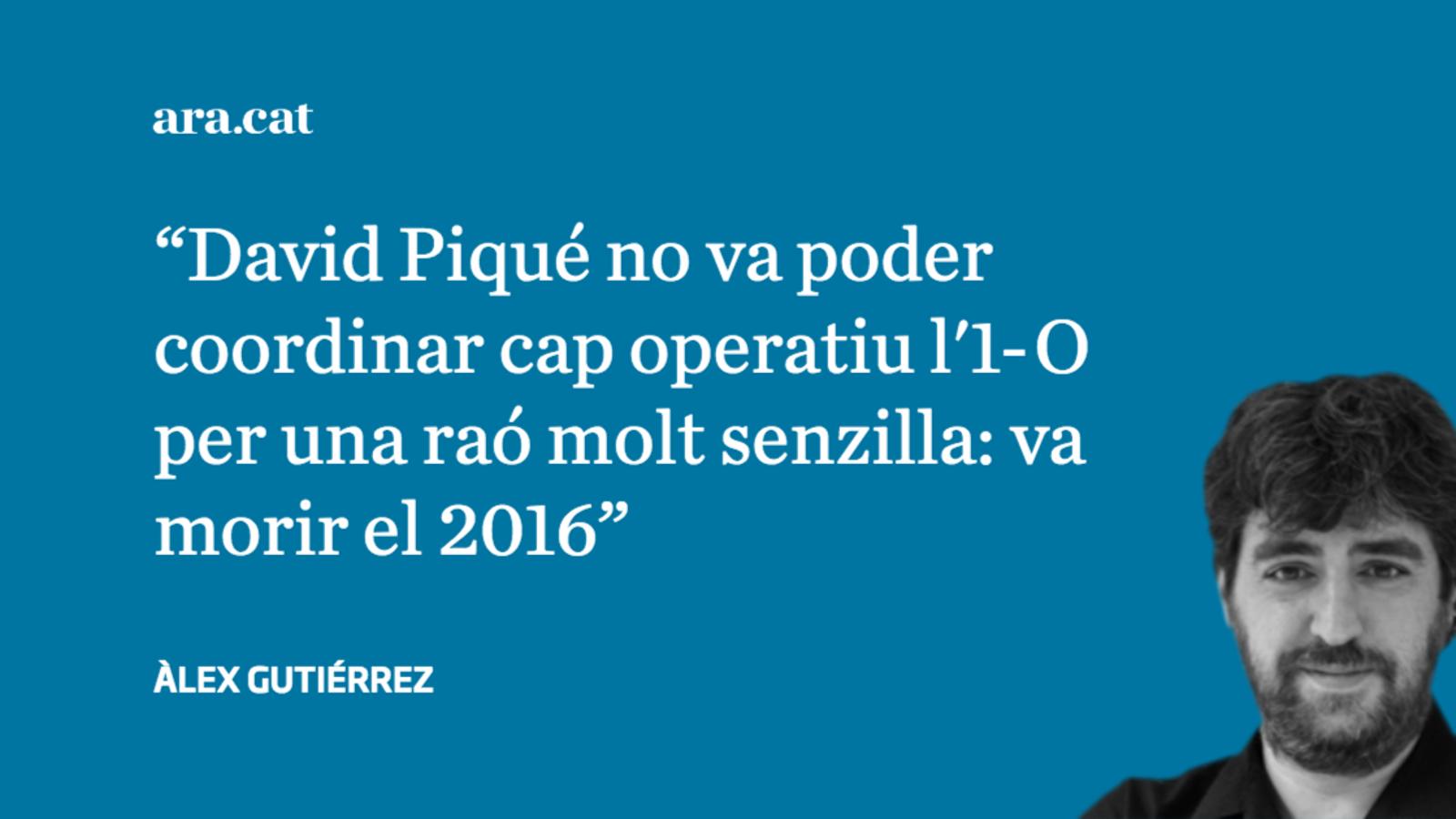 'OK Diario' acusa un mosso mort el 2016 de coordinar l'1-O