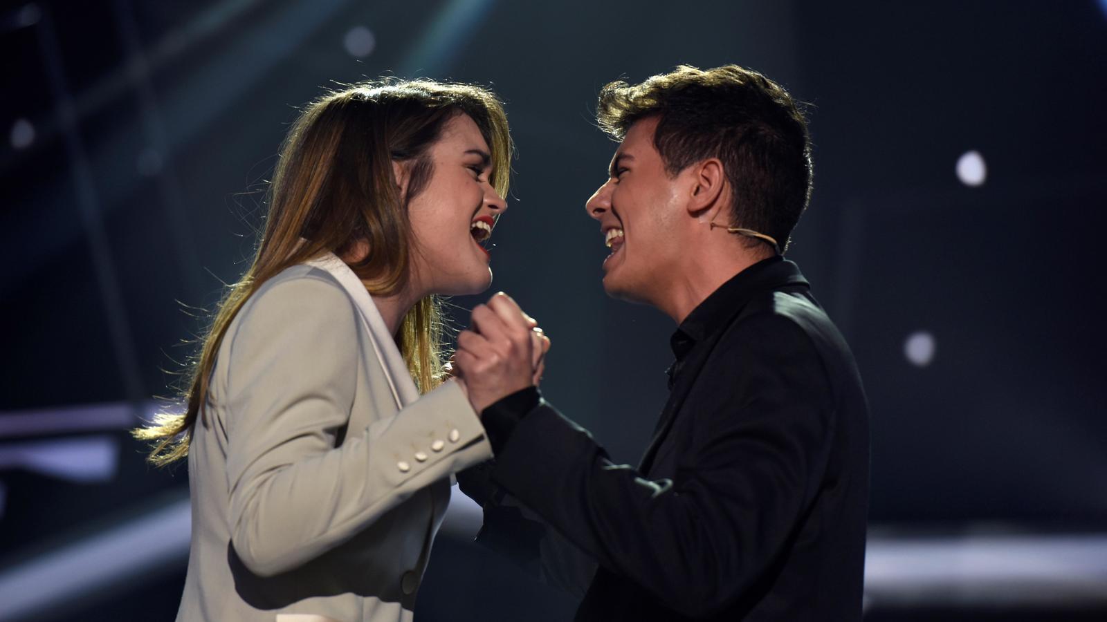Alfred i Amaia canten 'Tu canción'