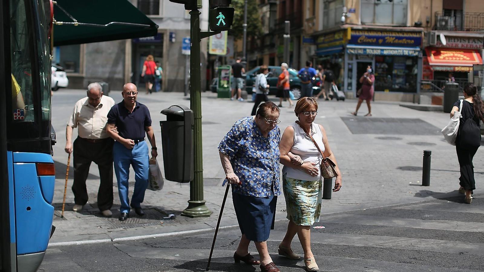 Els pensionistes catalans han perdut un 40% més de poder adquisitiu que els espanyols des del 2011