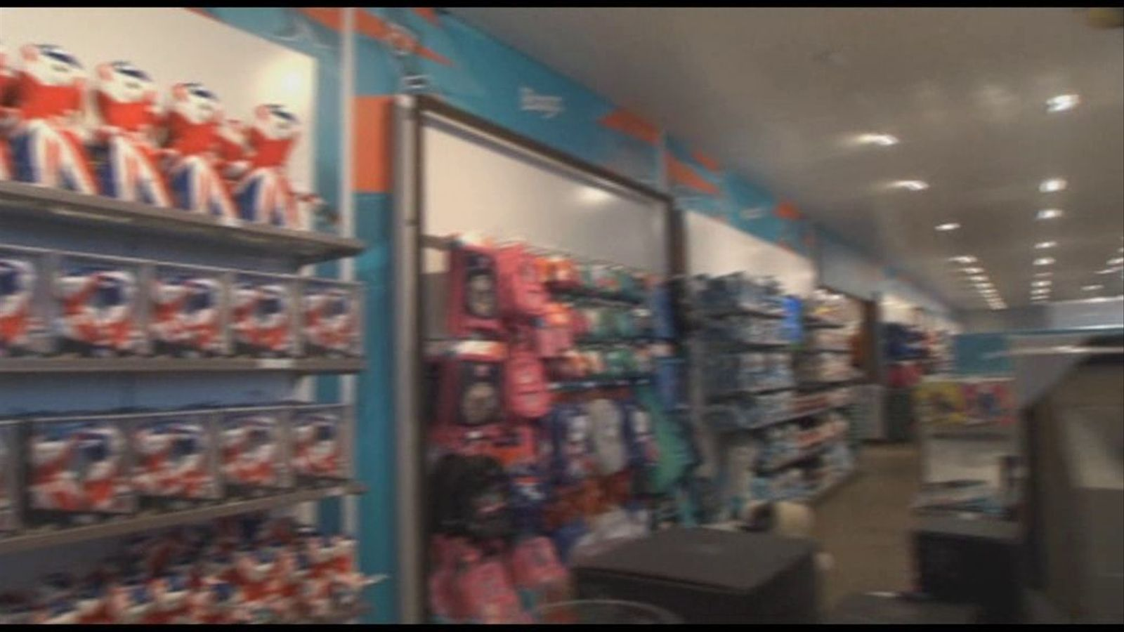 La botiga més gran de 'souvenirs' del món està dedicada als Jocs de Londres