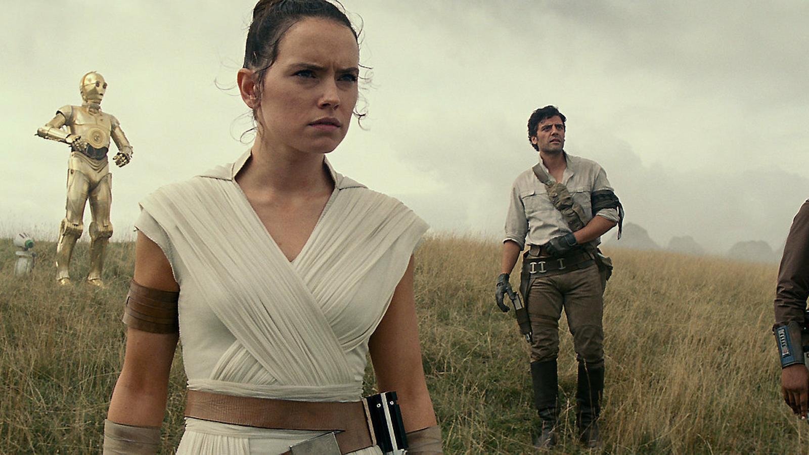 J.J. Abrams pilota l'últim vol de 'Star Wars'