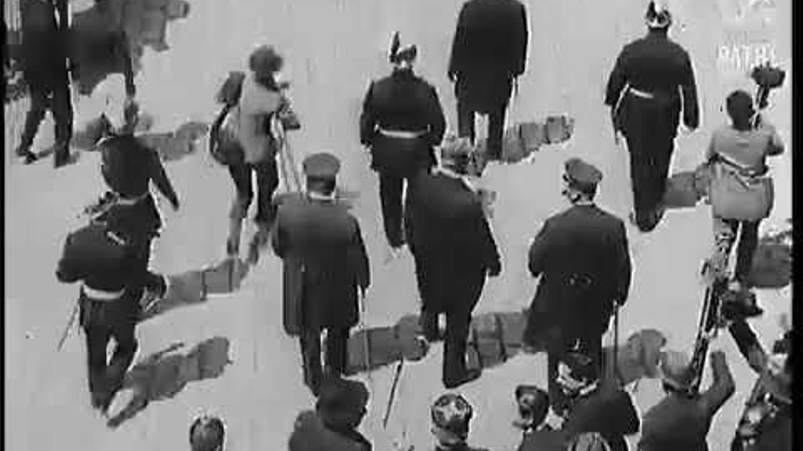 Visita del mariscal Joseph Joffre a Barcelona, el maig del 1920, amb motiu dels Jocs Florals de la ciutat