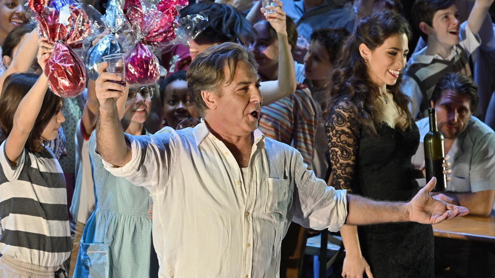 Roberto Alagna i Mercedes Gancedo a l'òpera 'Cavalleria rusticana' al Liceu