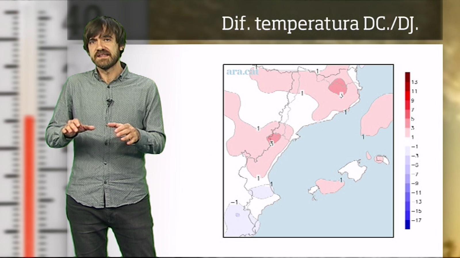 La méteo en 1 minut: sol i fred a l'espera de canvis a partir de diumenge