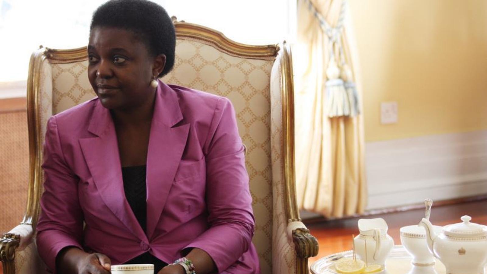 L'exministra i ara eurodiputada Cécile Kyenge, en una imatge d'arxiu