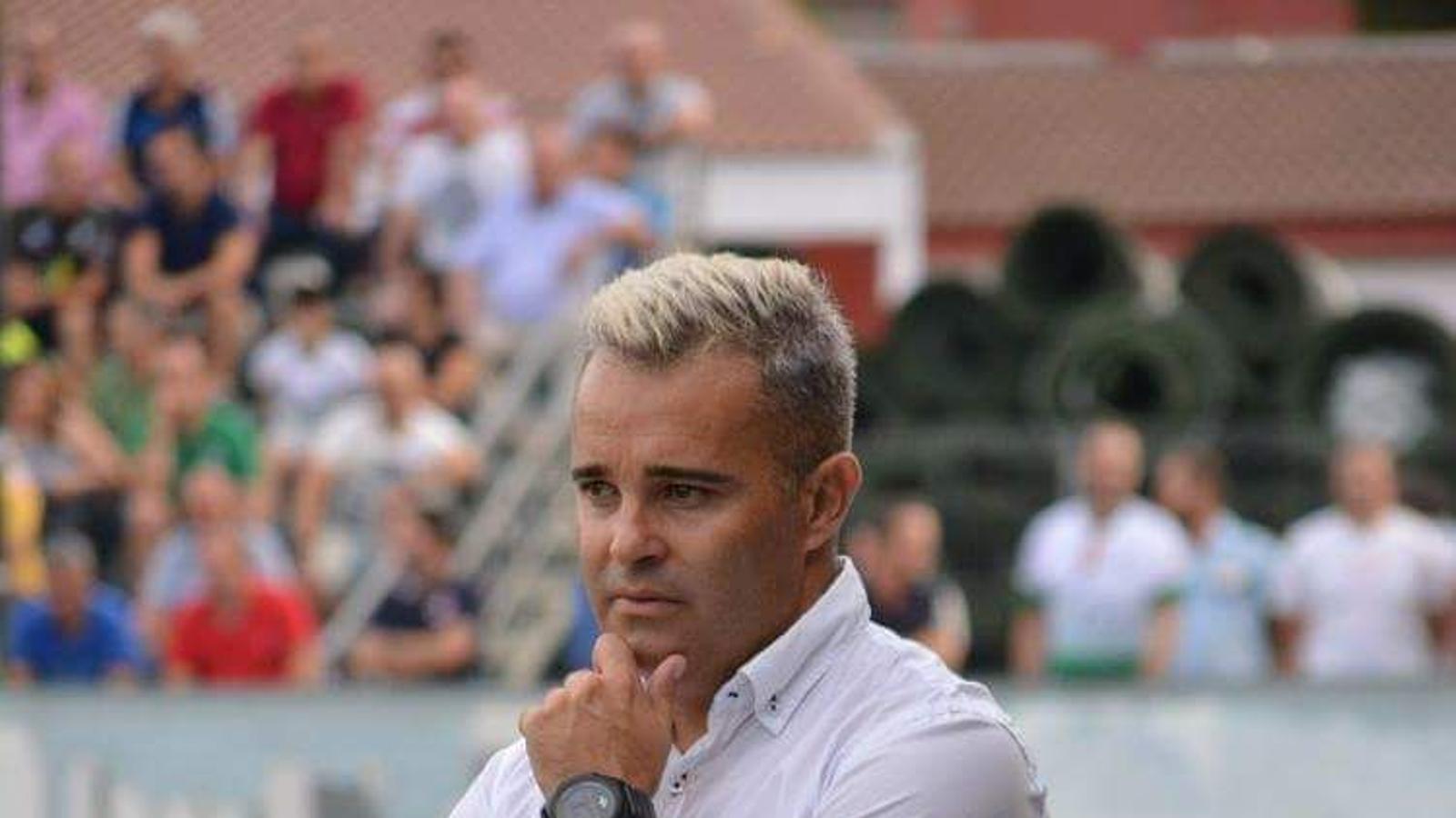 Juan Arsenal Moreno, nou entrenador de la SD Formentera