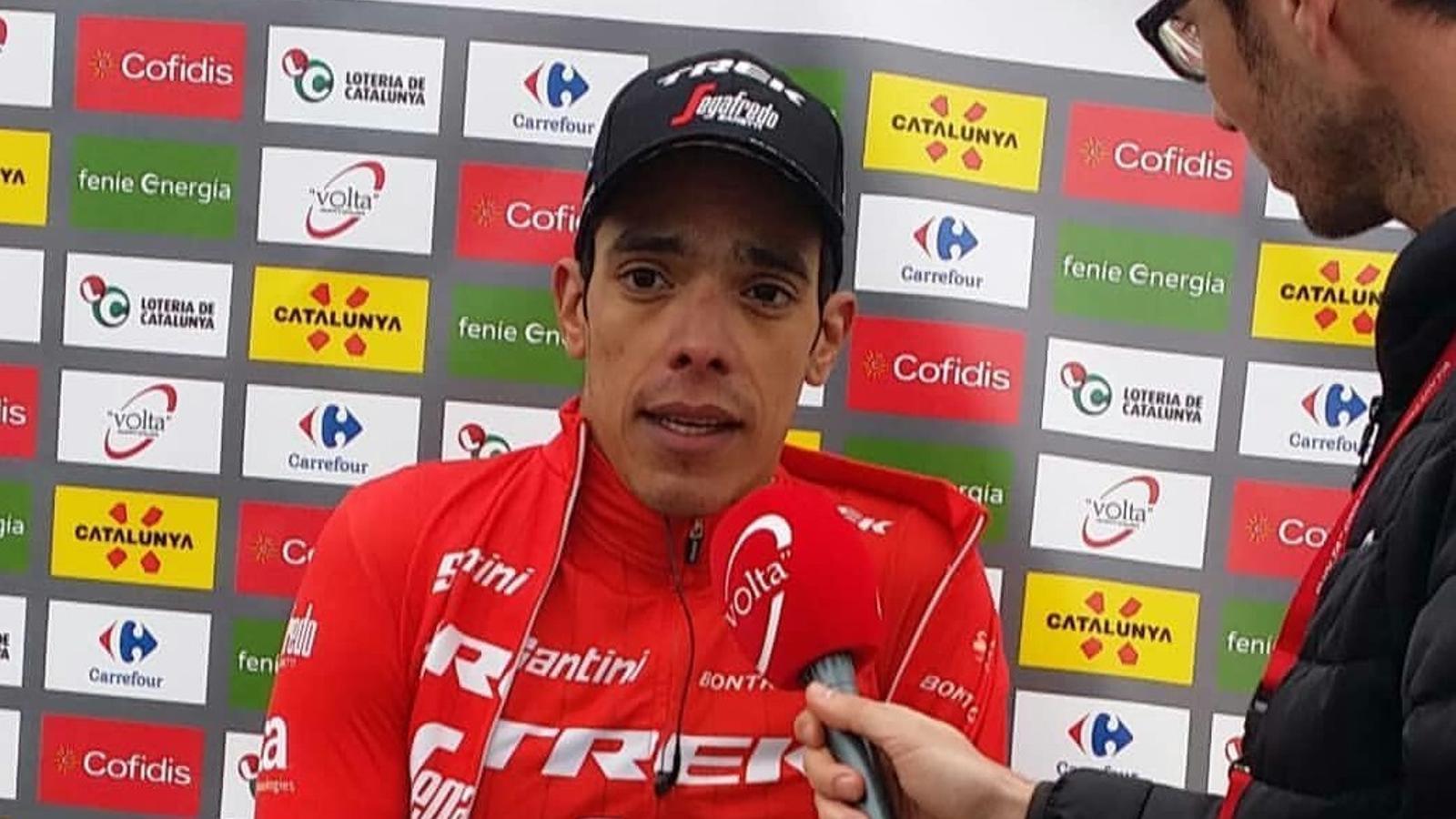 El colombià Jarlinson Pantano  guanya la 5a etapa de la  Volta
