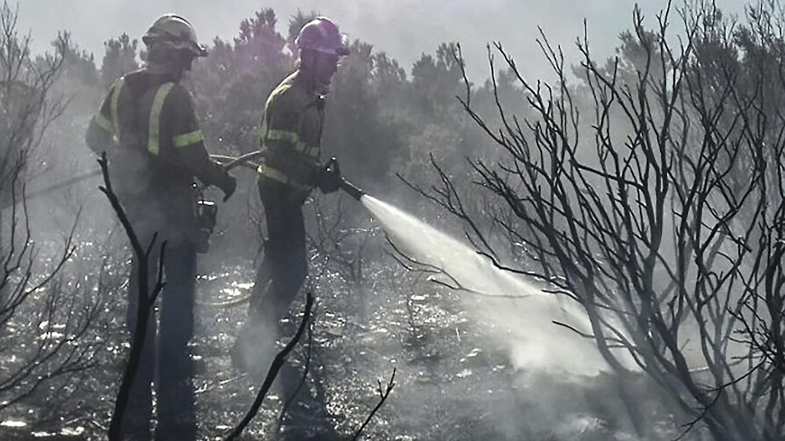 Investiguen si l'incendi de Roses va ser provocat