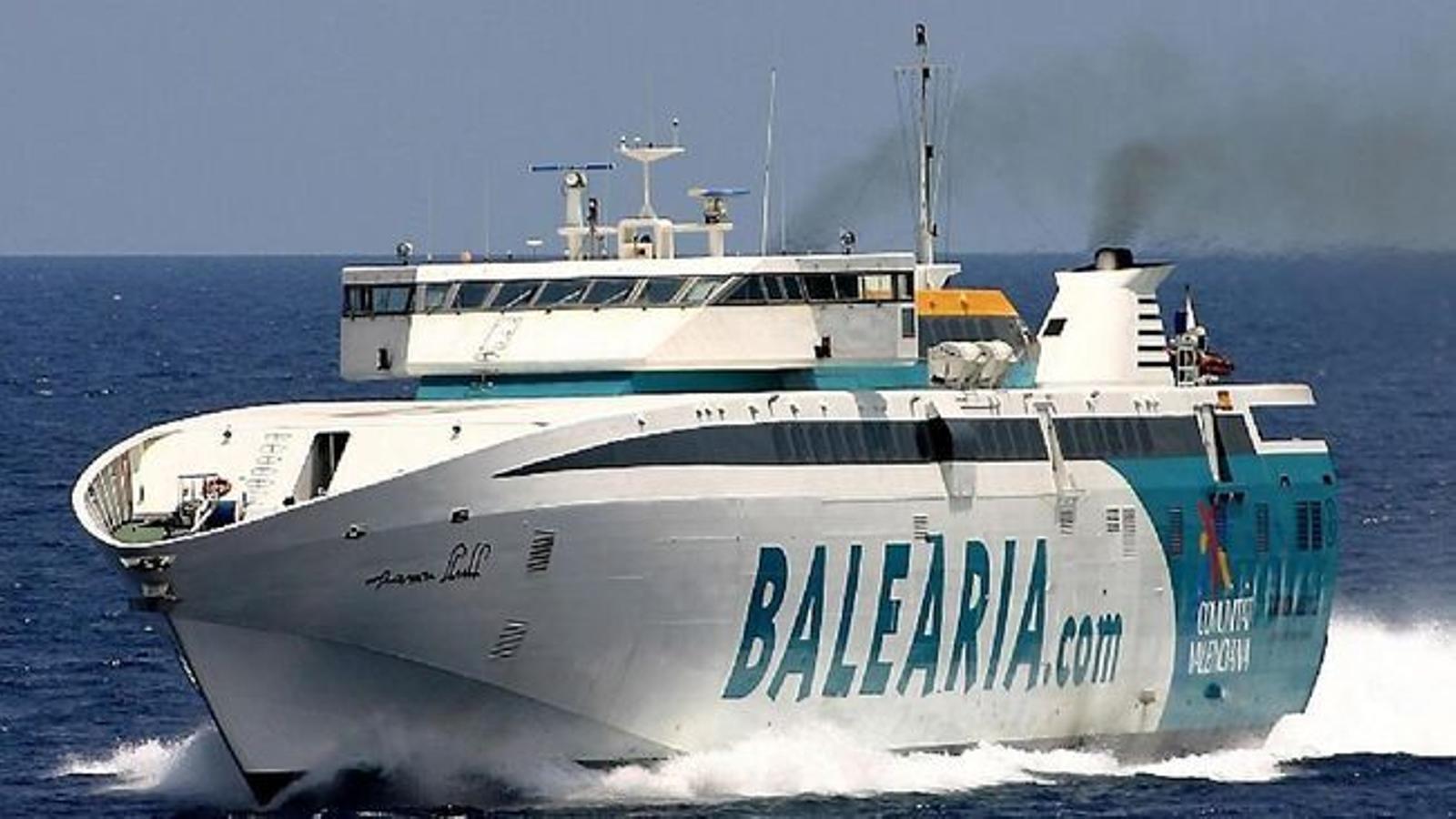 El govern espanyol declara prioritari el transport marítim entre les Balears i la Península