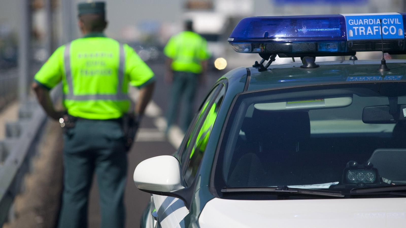 Una patrulla de la Guàrdia Civil. / ARA ANDORRA