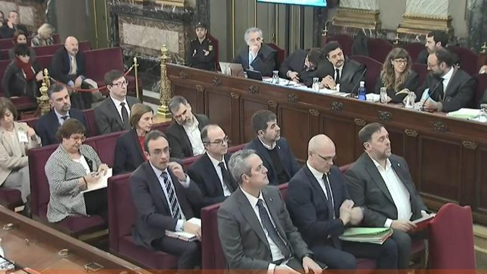 El judici al Procés, en directe