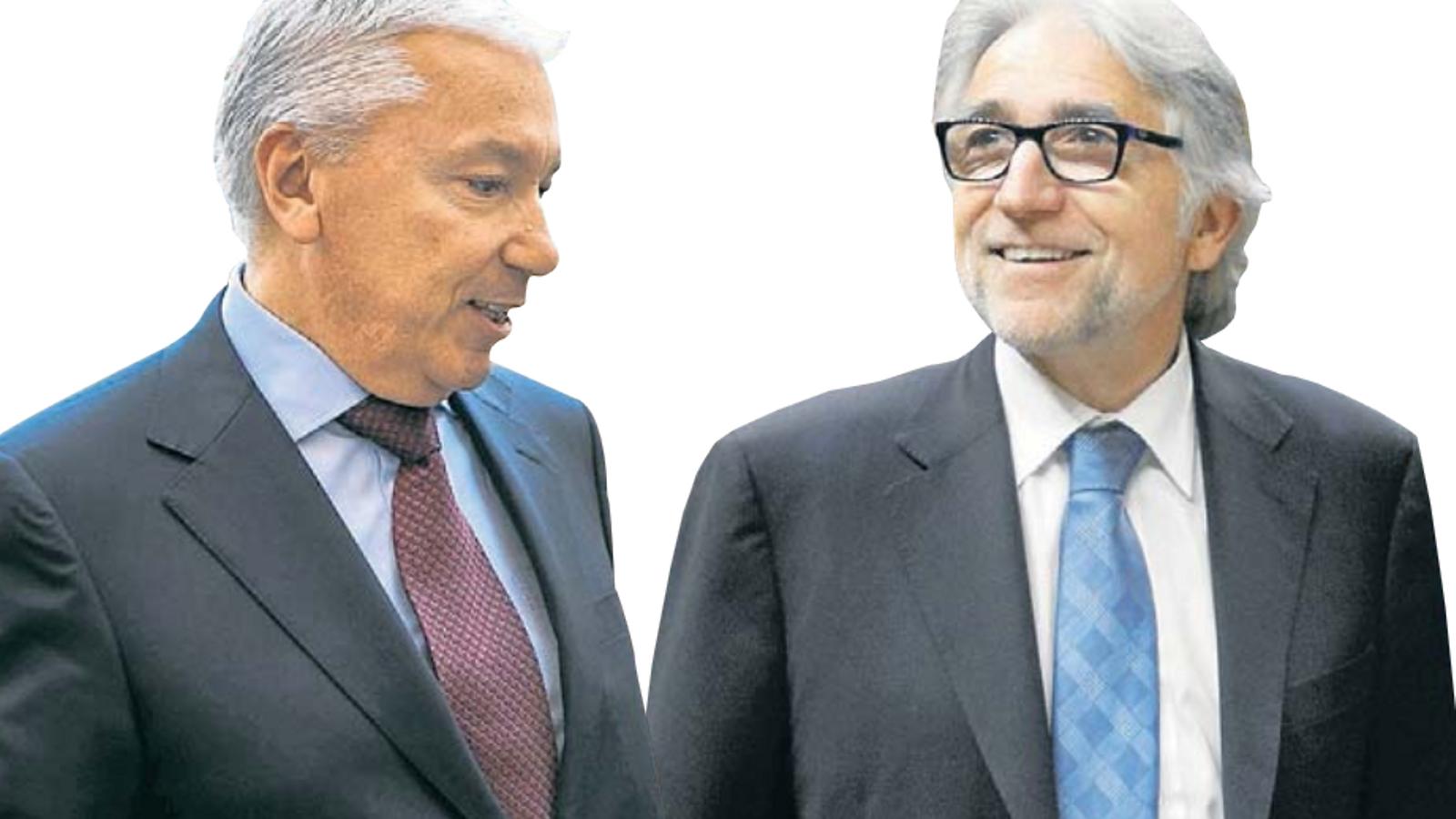 Antoni Abad i Josep Sánchez Llibre s'erigeixen en rivals pel control de Foment