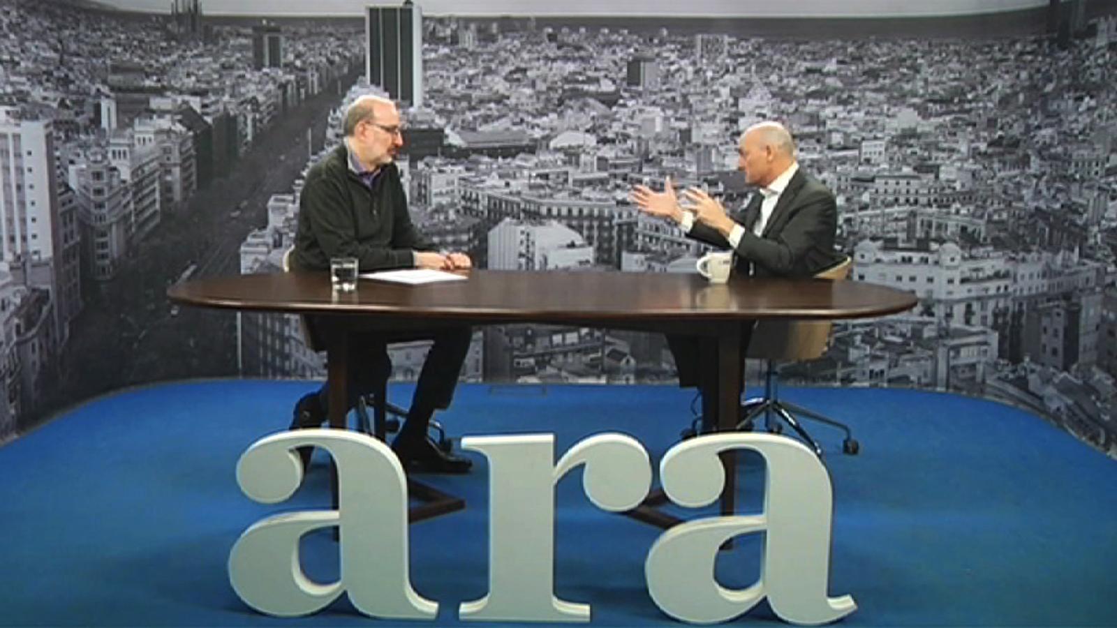 Entrevista d'Antoni Bassas a Lluís Torner