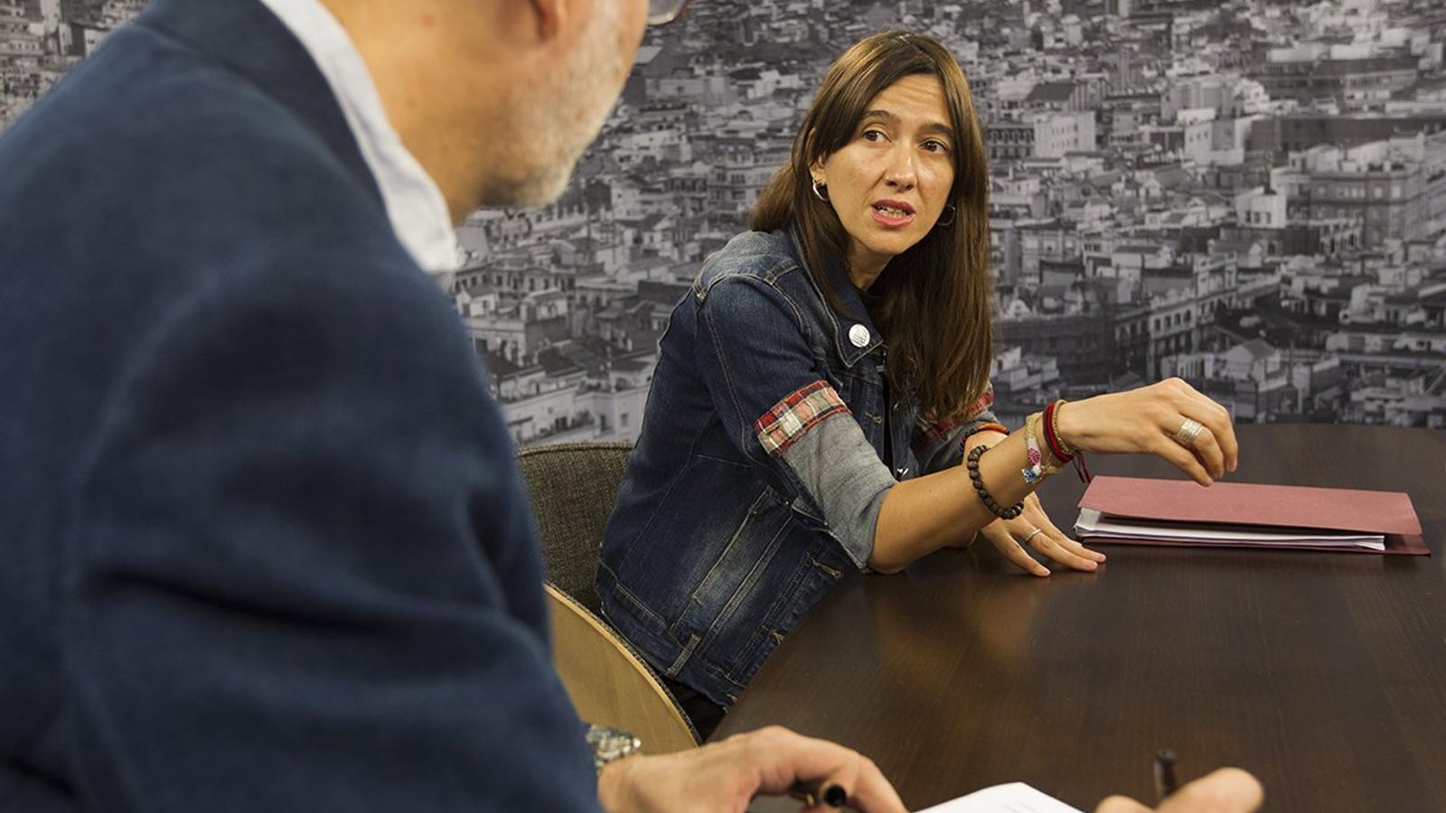 Entrevista d'Antoni Bassas a Núria Parlon