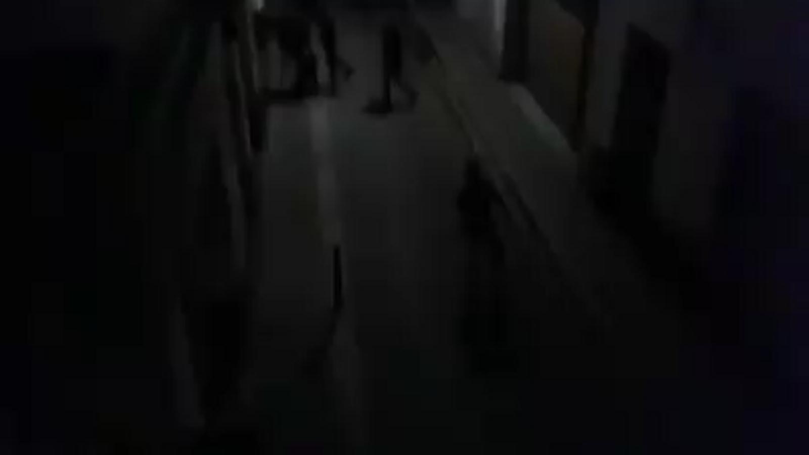 La Guàrdia Civil carrega a Calella