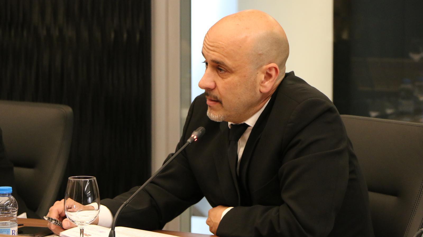 El conseller comunal de Liberals d'Andorra a Escaldes-Engordany, Higini Martínez-Illescas. / LIBERALS ANDORRA