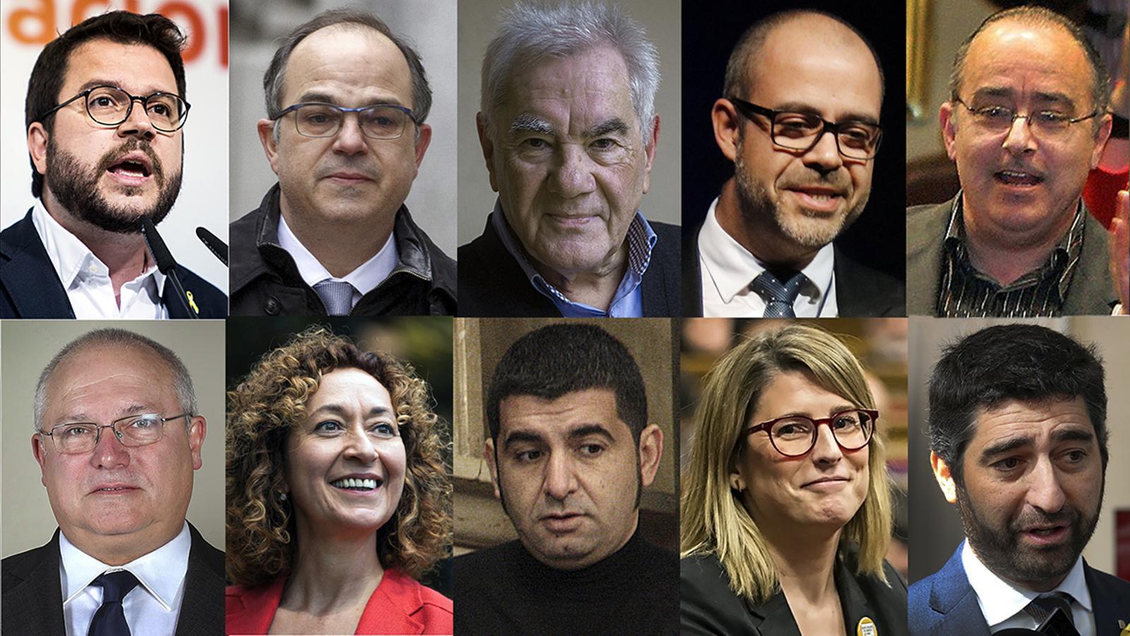 El nou govern de la Generalitat